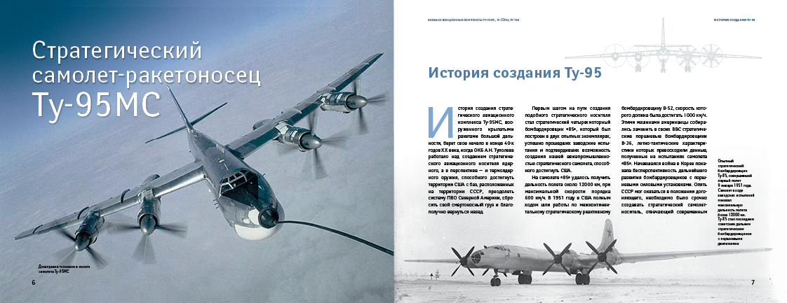 Боевые авиационные комплексы Ту-95МС, Ту-22М3,Ту-160